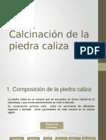 Calcinación de la piedra caliza.pptx