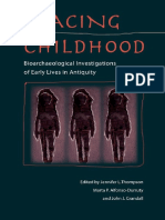 Tracing Childhood. Bioarchaeological Investigations - Jennifer L. Thompson Et Al.