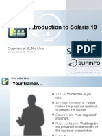 01-Introduction to Solaris