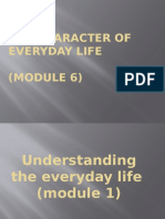 The Character of Everyday Life.pptx Sts Report