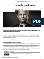 Benoît Hamon Ou La Révolte Des Diplômés