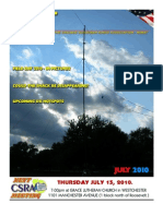 July 2010 CSRA TXT Newsletter