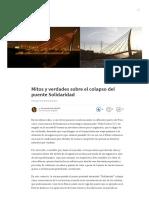 Sirumbal 2017 - Mitos y Verdades Puente Solidaridad