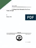 Destruction of Alaska Sportfishing by Exxon Valdez  Oil Spill