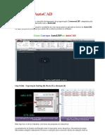 AutoLISP AutoCAD