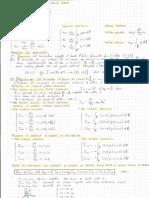Formulario Meccanica Razionale