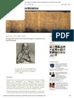 Em Busca Do Jesus Histórico_ O Segundo Concílio de Constantinopla e a Doutrina Da Reencarnação