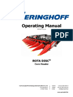 Geringhoff-operating Manual Rota Disc Rigid