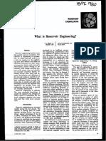 SPE920 What is Reservoir Engineering[1]