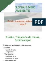 2-1 - Erosão, Transporte, Sedimentação A