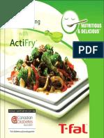 TIFAL Airfryer Cookbook
