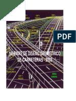 Normas de Diseño Geométrico-2003