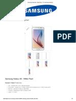 Samsung Galaxy S6 - White Pearl - PT Samsung Indonesia