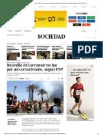 Incendio en Larcomar No Fue Por Un Cortocircuito, Según Informe de La PNP _ Lima _ Sociedad _ El Comercio Peru