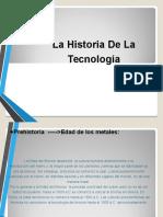 La Historia de La Tecnología Powerpoint