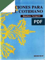 Taniguchi, Masaharu - Lecciones Para El Cotidiano. Opt.