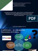 RECURSOS DE IMPUGNACION DEL CONTRIBUYENTE FRENTE A LA ADMINISTRACION TRIBUTARIA