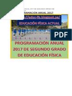 Programación Anual 2017 de Segundo Grado de Educación Física