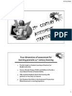 Assessment to Promote 21st Century Learning