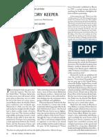 Gessen, Masha - The Memory Keeper (New Yorker, 26 Oct 2015)