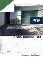 El Jardín minimalista