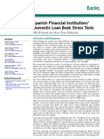 Fitch - Spanish Banks Stress Tests