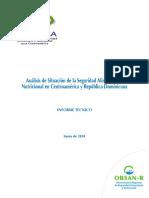 Analisis de La Situacion de La SAN en Centroamerica y Republica Dominicana[1]
