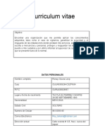 Curriculum Vita1