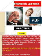 5. Comprensión Lectora - Análisis Textual