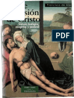 Sobre La Pasión de Cristo Francisco de Mier Ed BAC