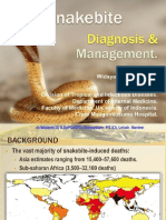 Snake Bite Diagnosis and Management