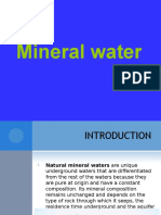 10 Mineral Waters