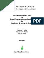 Civil Society Pakistan Assessment