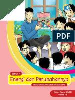 Kelas 03 SD Tematik 7 Energi Dan Perubahannya Guru