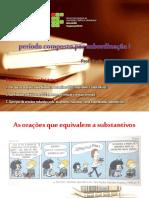 Período Composto Por Subordinação 1 - OS Substantivas - PDF
