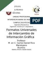 Formatos Universales de Intercambio de Informacion Grafica