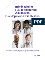 Family Medicine Curriculum Resource Print Version July 2014
