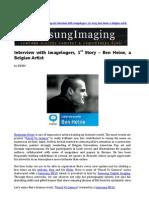 Interview With Imagelogers 1st Story - Ben Heine, A Belgian Artist