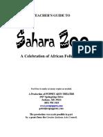 Sahara Zoo Teacher's Guide