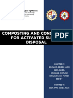 Composting and Conditioning for Activated Sludge Disposal