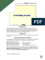Primavera Database Auditing