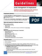 ASCIA Guidelines ADVANCED Acute Management Anaphylaxis Dec2016