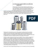 Why you should have sintered wire mesh installed in your filtration equipments?