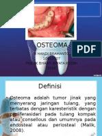 OSTEOMA handik ppt