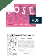 Rose Miniatures Catalogue 1965