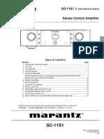 Marantz Sc-11s1 Service