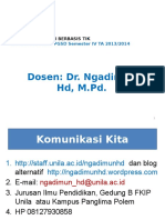 Kontrak Kuliah PB ICT PGSD