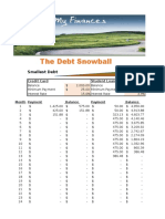 Automated Debt Snowball