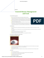 General Disease Management