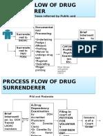 4 Process Flow for Drug Surrenderers
